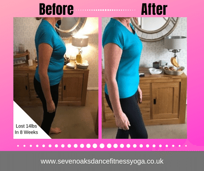 Elizabeth Lost 14 Pounds in 8 Weeks!